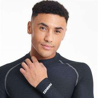 CRICKET BLACK BASELAYER FULL SLEEVE IHSAN SPORTS
